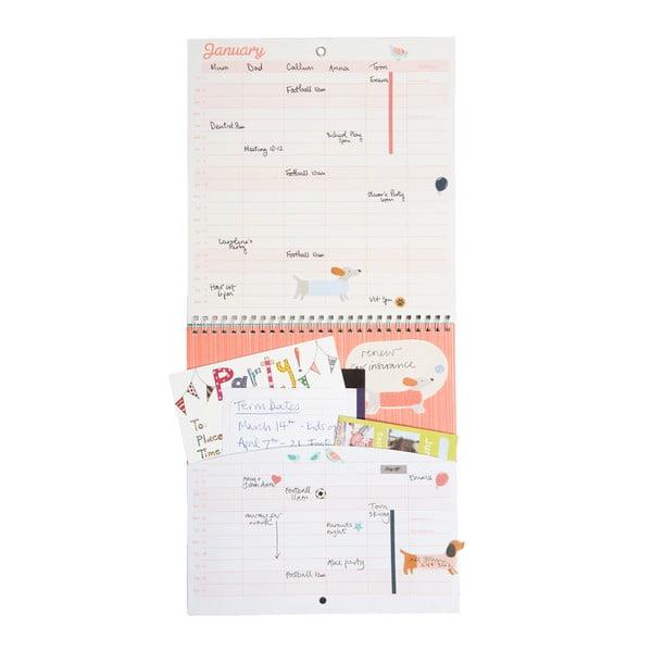 Kalendarz rodzinny Houses 2016