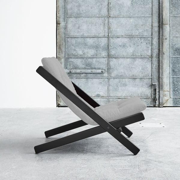 Fotel składany Karup Boogie Black/Light Grey