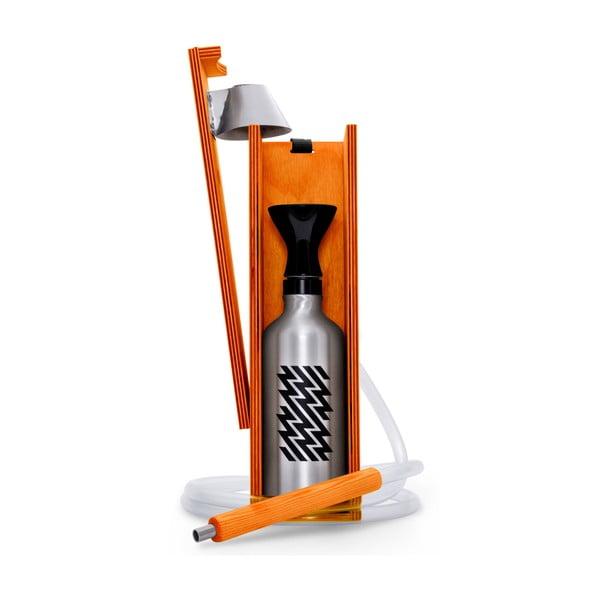 Designerska fajka wodna Hekkpipe Active, pomarańczowa