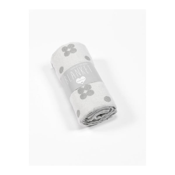 Dwustronny koc Roomblush Dots,130x180cm