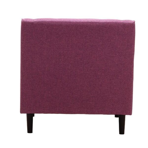 Fotel Ives Kamerun Dark Pink