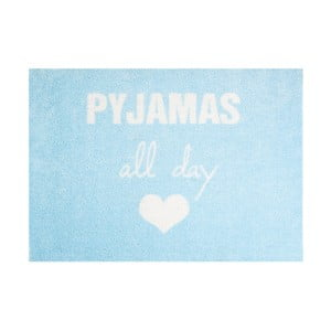 Niebieska wycieraczka Mint Rugs StateMat Pyjamas All Day, 50x75 cm