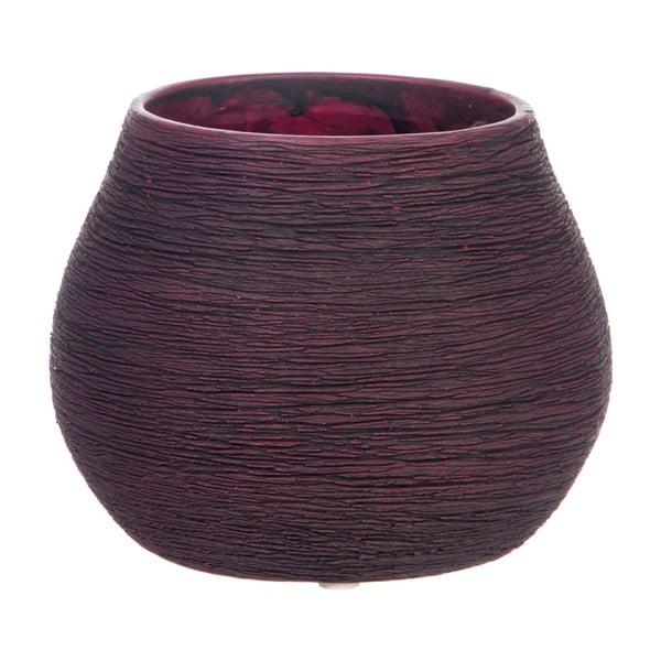 Doniczka Lines Burgundy, 14 cm