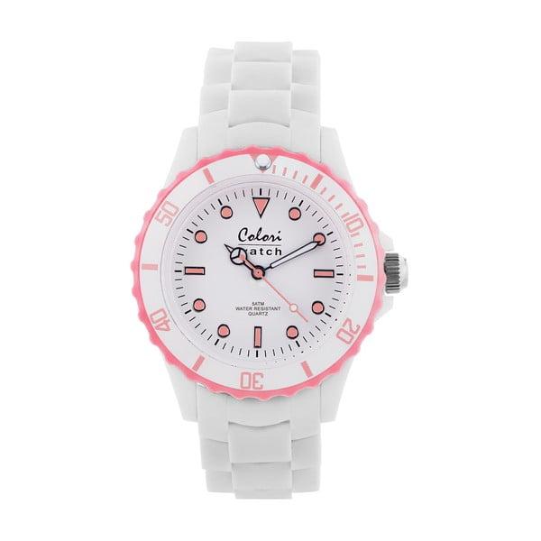 Zegarek Colori 40 White/Baby Pink
