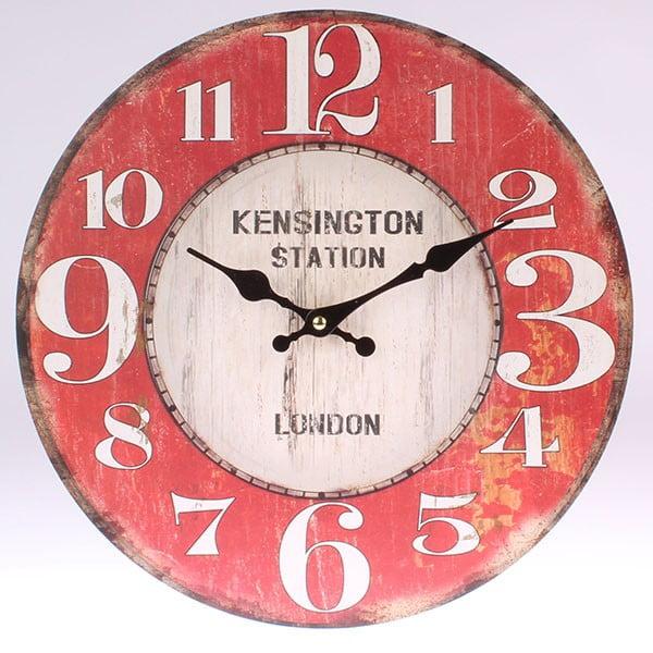 Drewniany zegar Kensington Station