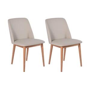 Zestaw 2 krzeseł dębowych RGE Perstorp