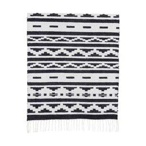 Czarno-biały dywan House Doctor New Inka