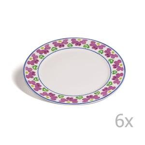 Zestaw 6 talerzy Toscana Pienza, 27 cm