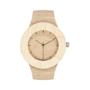 Drewniany zegarek z zaznaczonymi godzinami (kreski) Analog Watch Co. Silverheart & Maple