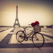 Obraz Paris Eiffel, 80x80 cm