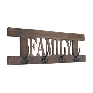 Wieszak Shabby Family, brązowa