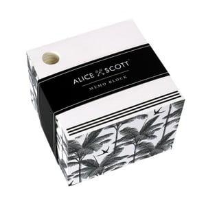 Bloczek/notatnik  w pudełku Alice Scott by Portico Designs, 500str.
