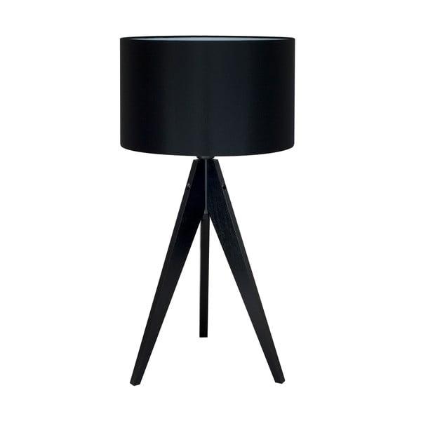 Czarna lampa stołowa 4room Artist, czarna lakierowana brzoza, Ø 33 cm