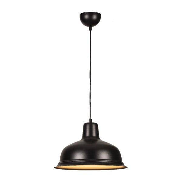Czarna lampa wisząca Bell