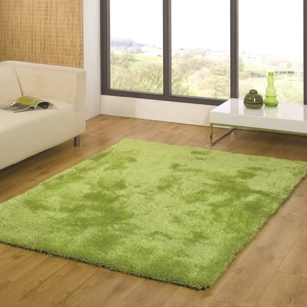 Dywan Twilight Lime Green, 75x150 cm