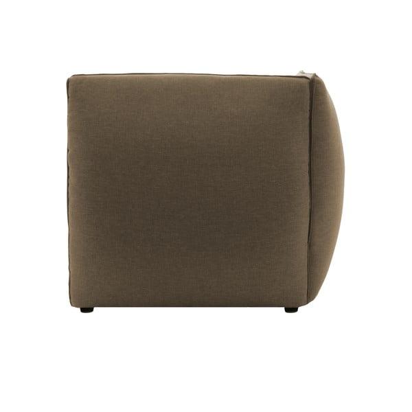 Moduł prawostronny do sofy VIVONITA Cube Sawana, ciemny beż