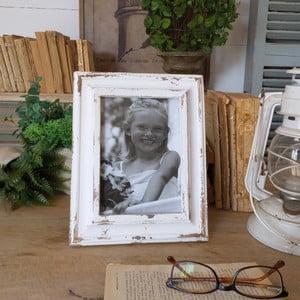 Ramka na zdjęcia Shabby White Verona