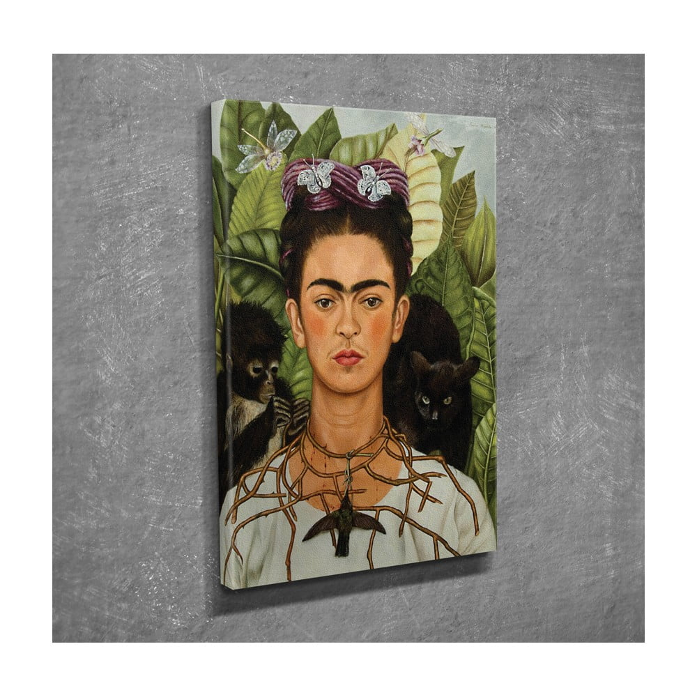 Reprodukcja Na Płótnie Frida Kahlo 30x40 Cm Bonami