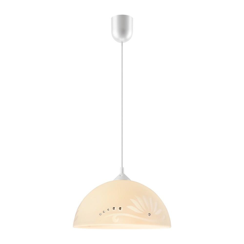 Beżowa lampa wisząca Lamkur Meadow