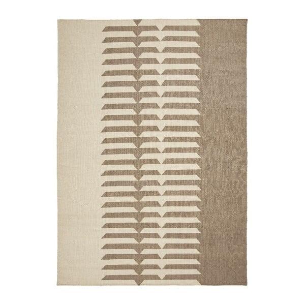 Wełniany dywan Tottori Beige, 170x240 cm