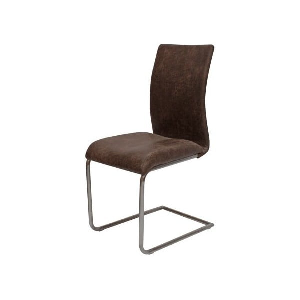 Brązowe krzesło Canett Clipper
