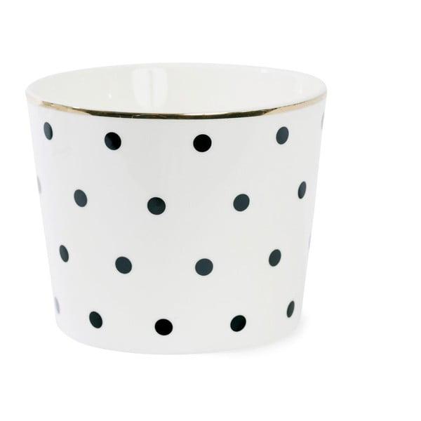 Doniczka ceramiczna Miss Étoile Dot Black
