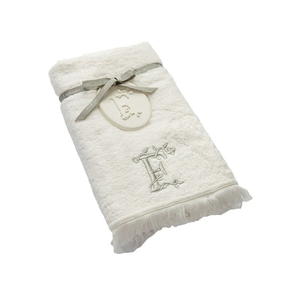 Ręcznik z inicjałem F, 50x90 cm
