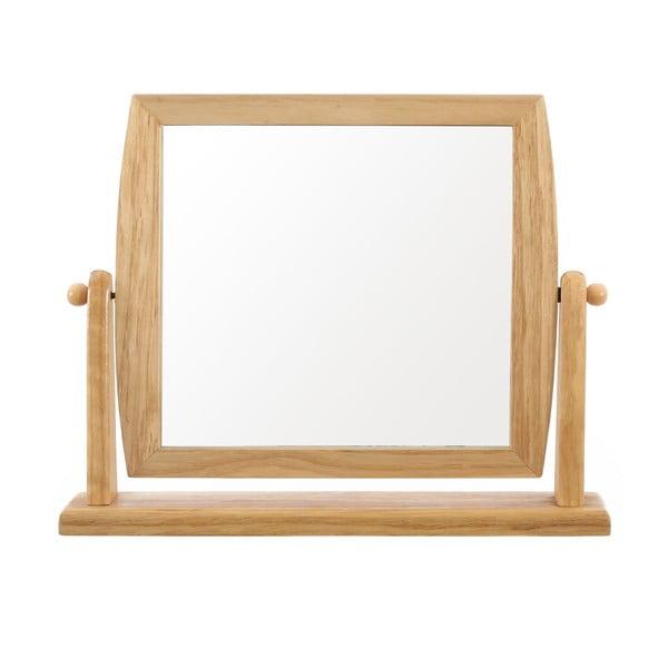 Lustro w drewnianej ramie Table Mirror, 9 cm