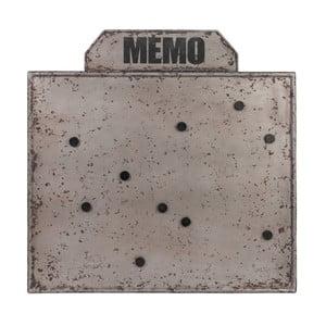 Tablica magnetyczna Met Grey, 67 cm