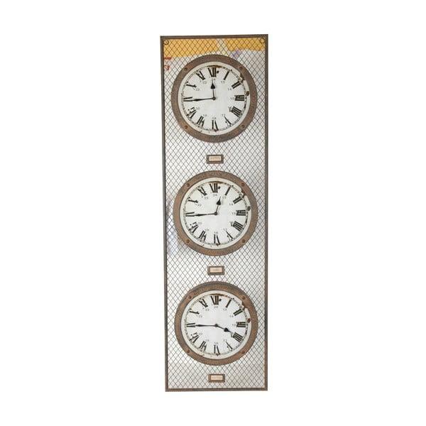 Potrójny zegar Antic Line Pendule