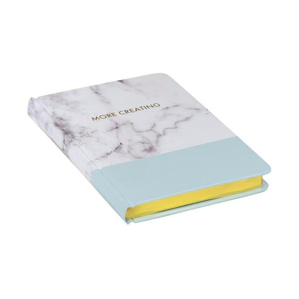 Notes Stockholm Marble, niebieski