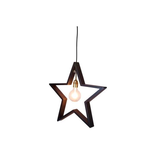 Wisząca   ozdoba świetlna, gwiazda Best Season Hanging Brown