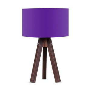 Lampa stołowa z fioletowym abażurem Kate Louise Kahve