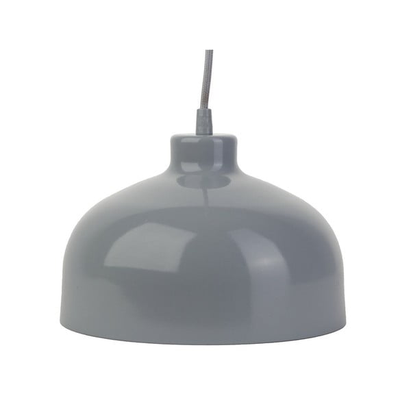Szara lampa wisząca Loft You B&B, 44 cm