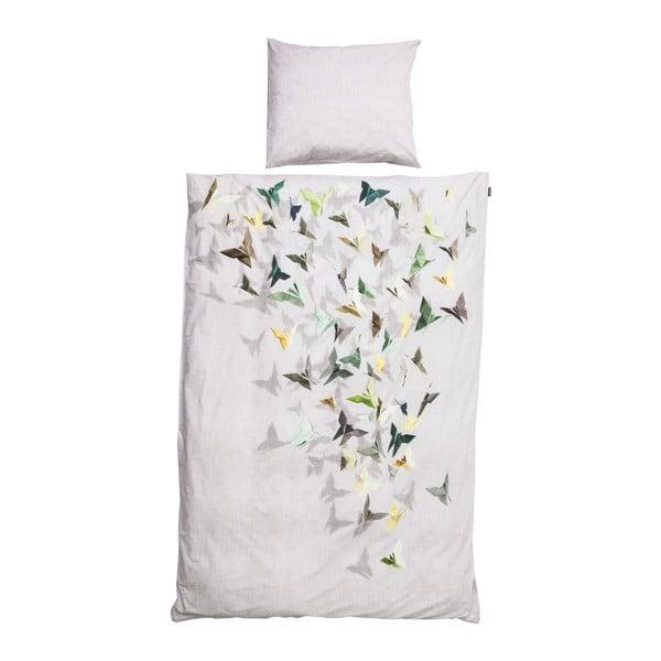 Pościel Snurk Butterfly Green 140x200 cm