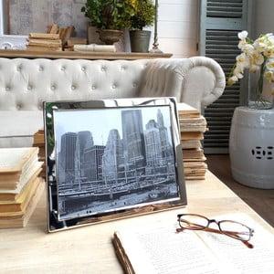 Ramka na zdjęcia Plaza Chrome, 28x23 cm