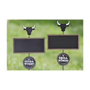 Zestaw 2 dekoracji ogrodowych Boltze Stamp