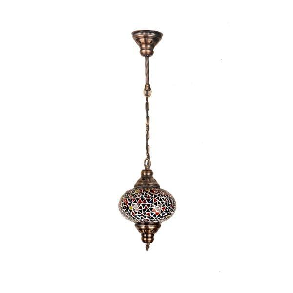Lampa wisząca szklana Single I, 17 cm