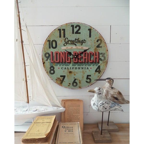 Zegar ścienny Long Beach, 45 cm