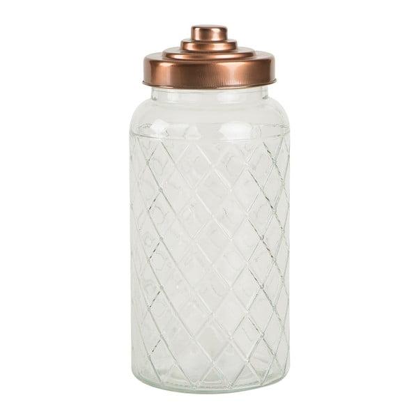 Szklany pojemnik T&G Woodware Lattice, 1400 ml
