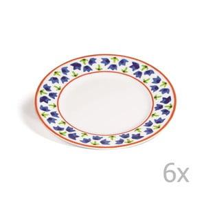 Zestaw 6 talerzyków Toscana Gimignano, 21.5 cm