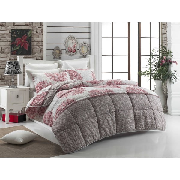 Narzuta pikowana na łóżko jednoosobowe Hrina, 155x215 cm