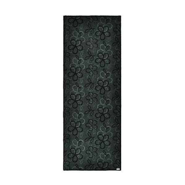Wycieraczka Floral Grey, 67x180 cm