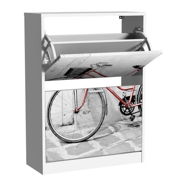 Szafka na buty z 2 uchylnymi drzwiami 13Casa Social Bike
