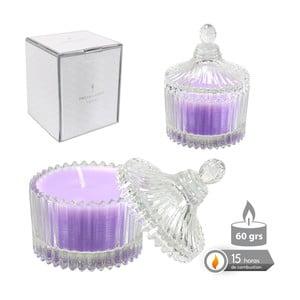 Lawendowa świeczka zapachowa w pojemniku szklanym Bombonera