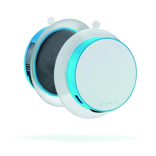 Niebieska   przenośna ładowarka słoneczna XD Design Port