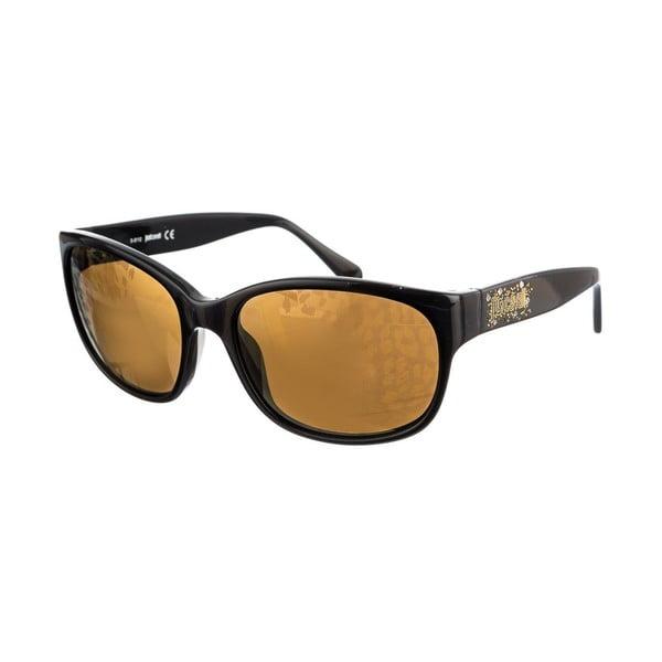 Damskie okulary przeciwsłoneczne Just Cavalli Deep Black