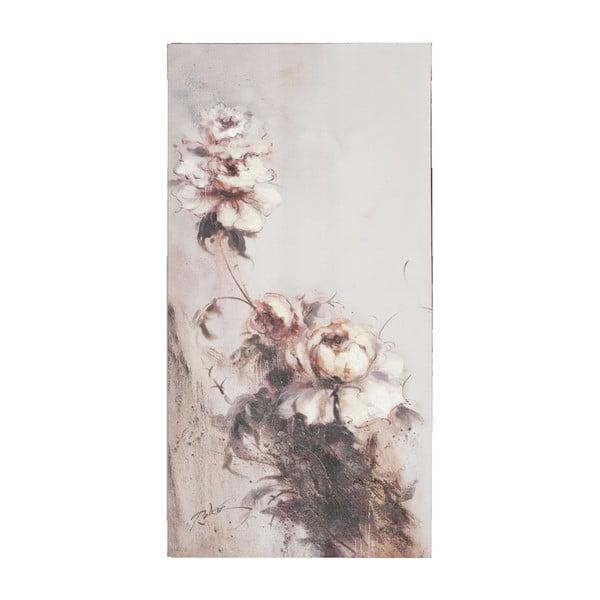 Obraz Flower Pink Clayre, 60x120 cm