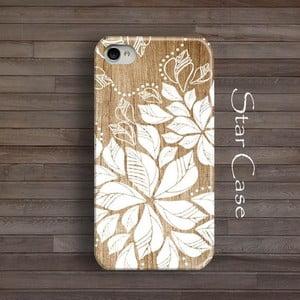 Etui na iPhone 5/5S Wood Floral Big