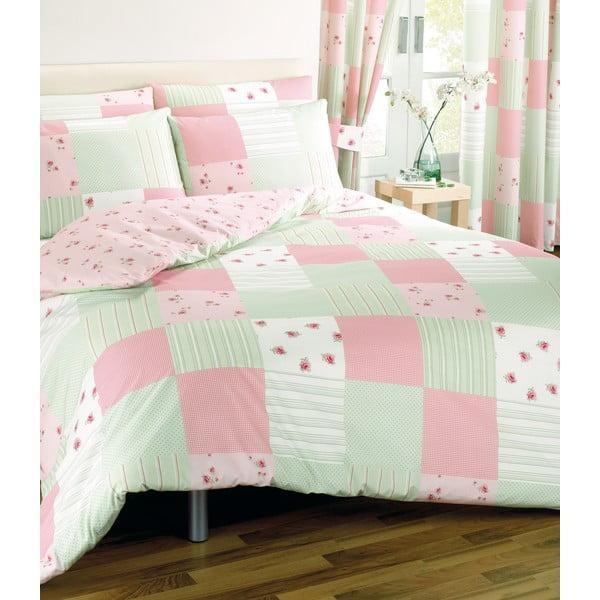 Pościel Patchwork Pink, 200x200 cm
